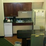 Suite 138 Kitchen