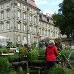 """Hauptgebäude Rückseite während """"Faszination Garten"""""""