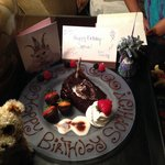 Thank you Omni Colonnade in San Antonio!!! You made this birthday extra special for our princess