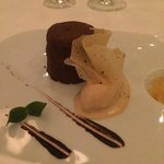 Chocolate Souffle - perfect ending to an amazing dining experience.