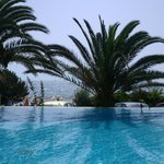 Anassa Pool with view to sea