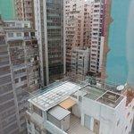 11階の部屋からの眺望