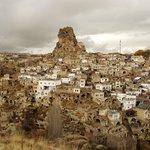 uchisar, vue sur la ville