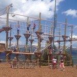 Ropes course (hardest)