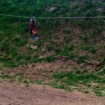 Small kids zipline