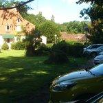 L'Hôtel et le parking