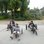 Grandkids on the bikes