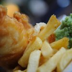 Delicious fish 'n' chips