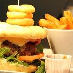 Succulent steak and burgers