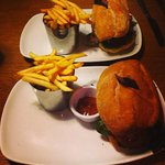 Both Kangaroo burgers