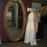 Mirror-Lore of belonging to Dolley. Combing Gown/Shawl.
