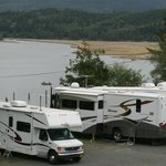 View of the water right from your RV
