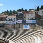 The Theatre and the good restaurant Gladiator
