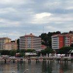 Il complesso degli hotel della catena Life Class a Portoroz