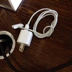 Housekeeping neatly coils your iPhone cord