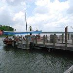 boat dock to the Magic Kingdom