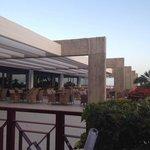 Evening entertainment bar terrace