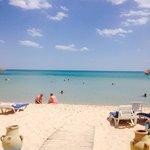 The beach ��