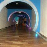 tunel vers la palge
