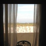 View of dune from Room 148.