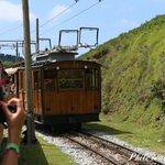 croisement du train montant et descendant