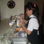 Tanya again working her magic