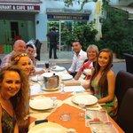 7 happy eaters!!