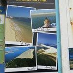 panneaux des différentes excursions