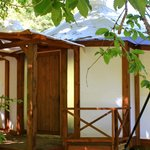 Luxury glamping suite