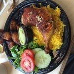 Spanish Baked Chicken with garlic mojo