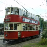 One of the vintage trams, well worth a ride