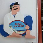 Niko's Taverna sign