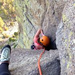 Climbing the Durrance Route