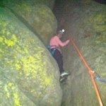 A little night climbing