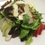 Fresca salads with Gorgonzola dolce and honey balsamic vinaigrette