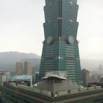 View of Taipei 101 from room