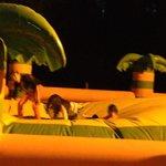 jeux gonflables au camping
