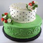 Two Tier Custom Cake