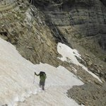 The snow traverse