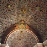 Teto da capela do palácio.
