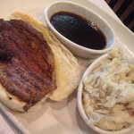 Cajun prime rib sandwhich