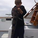 A big fat Ling Cod, boy was he tasty!