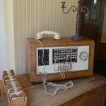 Hotel lobby - WW2 radio