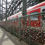 The number of locks is impressive
