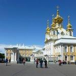 At Peterhof Palace