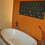 Bath in 2-bedroom Limpopo house