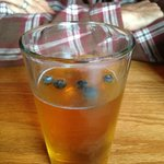 Maine blueberry beer on draft !
