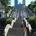 la famosa escalera