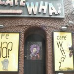 Cafe Wha? in Greenwich Village-famous start for Bob Dylan, Jimi Hendrix and more