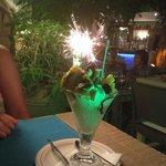 "The ""special""dessert!!! Amazing!"